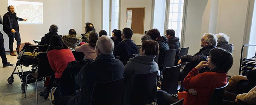 Retour sur la première réunion du projet de la rue Paradis à Saint-Chamond