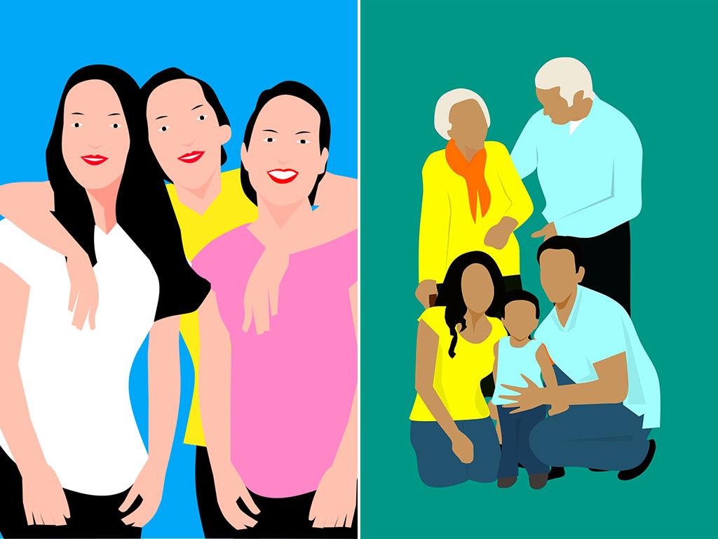 Illustration de groupes initiant un projet d'habitat groupé : comment ça marche, avec Chez moi demain, assistant à maîtrise d'ouvrage pour habitat participatif